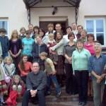 Po seminaro drauge su kitais Kaišiadorių vyskupijos Šeimų centrų savanoriais